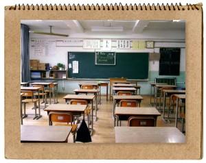 教室内の風景